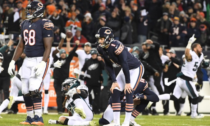 NFL: NFC Wild Card-Philadelphia Eagles at Chicago Bears